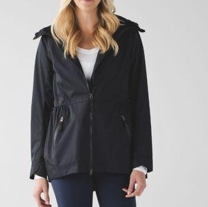 Lululemon Black Rain For Daze Jacket